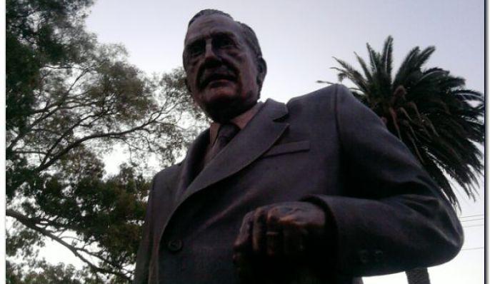 Monumento al Dr. Raúl Alfonsín, Lugar histórico de Chascomús