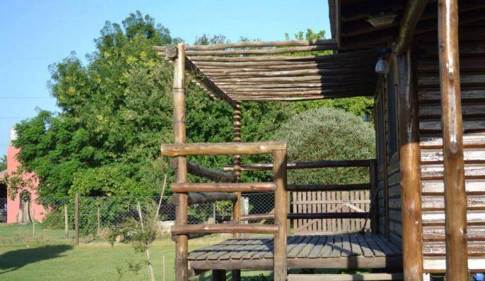 Cacique Catriel, Cabaña en Chascomús