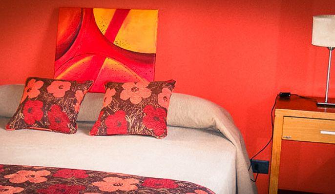 Los Robles Rojos, Cabaña en Chascomús