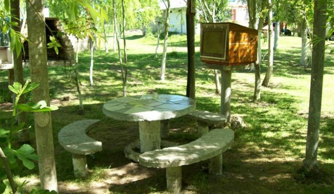 La Casona, Camping en Chascomús
